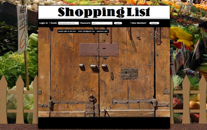 ehm studios web development website shopping list